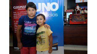 Francisco y Tomás Riera  / Diario UNO: Mauricio Centurión