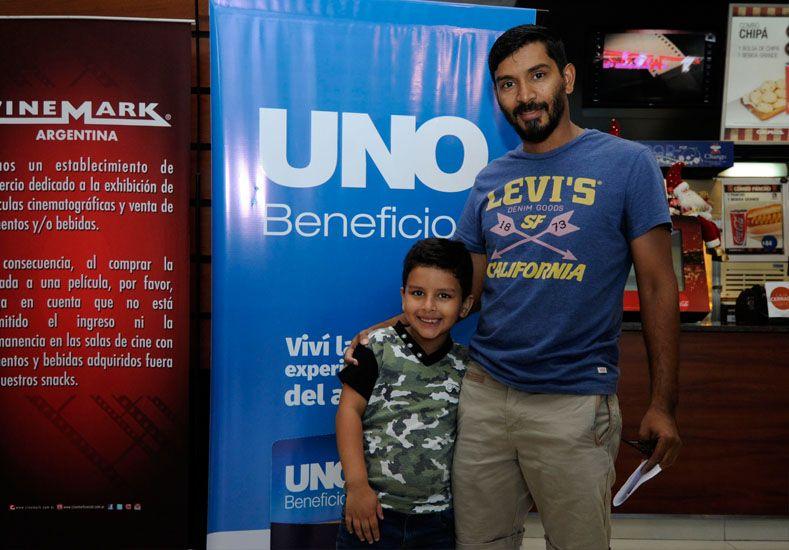 Hernán Oroño y Ramiro Aranda / Diario UNO: Mauricio Centurión