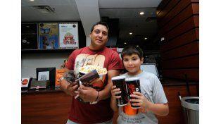 Juan Pablo y Juan Bautista Cáseres  / Diario UNO: Mauricio Centurión
