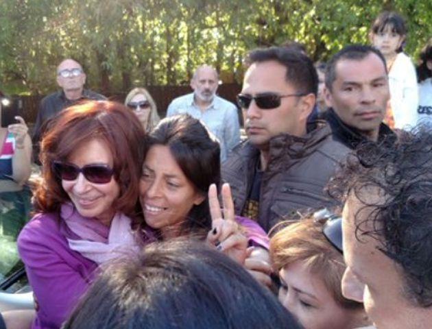 Cristina reapareció con fotos que publicó en Twitter desde su residencia en El Calafate