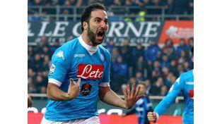 Higuaín cerró el año con dos nuevos goles en la victoria del Napoli