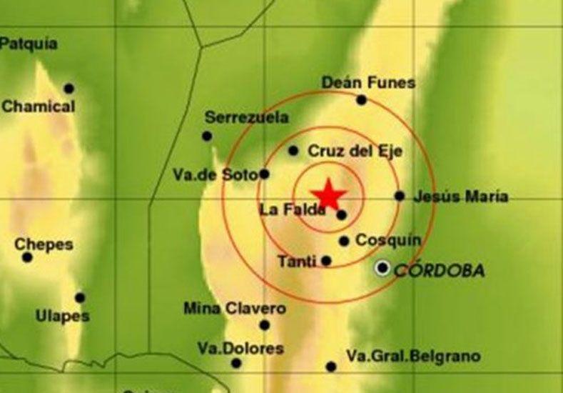 Dos temblores afectaron Mendoza, La Rioja, San Juan y Córdoba