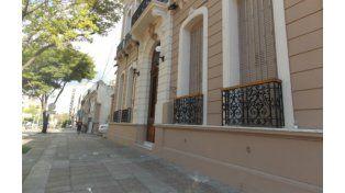 El edificio del juzgado federal de la capital entrerriana