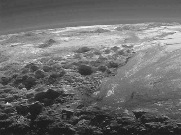 Los jardines colgantes de Plutón