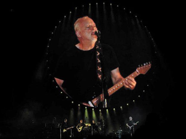 David Gilmour brindó un memorable show