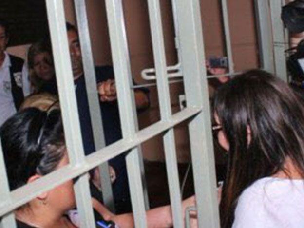 Así entró Moria a la cárcel de Paraguay