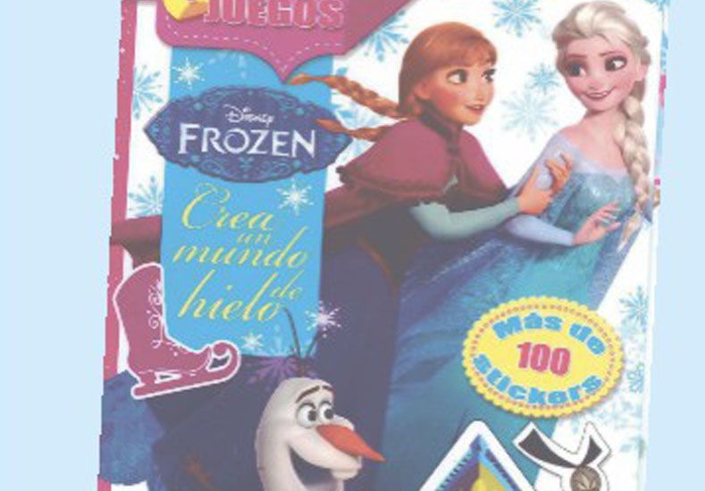 Este miércoles pedí con el UNO, la revista Disney Frozen