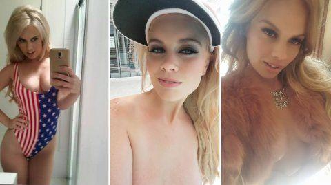 Fanática de las selfies hot