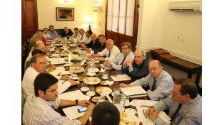 Prioridades. Se definieron en el primer encuentro de los ministros y secretarios con el gobernador. Gentileza/Gobierno de la Provincia