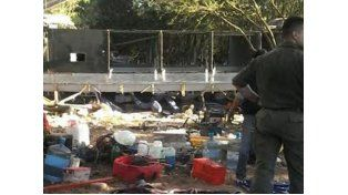 Ya son 43 los gendarmes muertos al desbarrancar un ómnibus