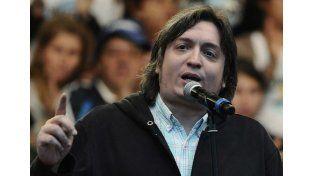 De rebelión fiscal pasamos a pagar impuestos con alegría, se quejó Máximo Kirchner
