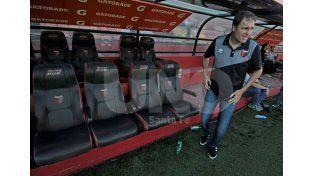 Darío Franco aguarda ansioso las novedades respecto a la conformación del plantel para el 2016. Foto: Manuel Testi / Diario UNO Santa Fe