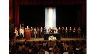 Juraron los nuevos miembros del gabinete provincial