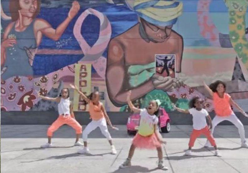 Una bailarina de apenas cuatro años se quedó con la corona de YouTube en 2015