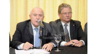 Lifschitz y su vicegobernador Carlos Fascendini