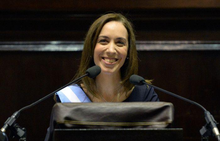 """Vidal aseguró que recibe """"una provincia quebrada"""" y prometió trabajar """"con decisión"""" contra la inseguridad."""