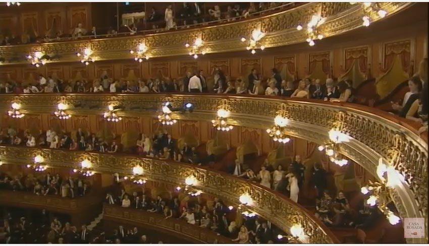 EN VIVO: Mirá la gala presidencial en el Teatro Colón