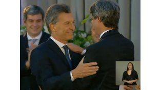 Mauricio Macri le tomó juramento a los ministros