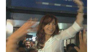 La expresidenta partió hacia Río Gallegos.