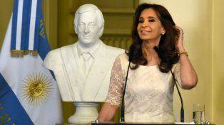 Las primeras horas de Cristina Kirchner como ex Presidenta: Estoy bien, estoy normal