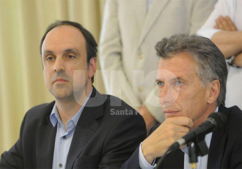 Corral participa de la asunción del presidente Mauricio Macri