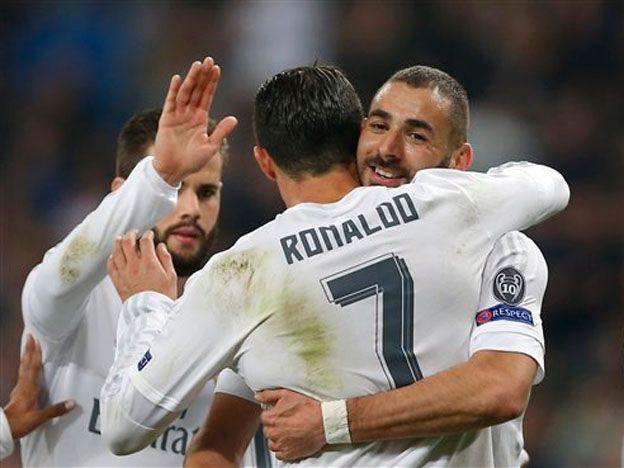 ¡Le hizo 8! El Madrid aplastó al Malmö con un Ronaldo estelar