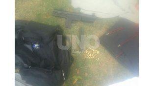 Rosario: secuestraron la octava ametralladora en lo que va de 2015