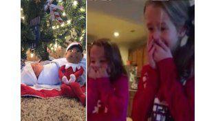 El mejor regalo de Navidad: un hermanito bajo el árbol