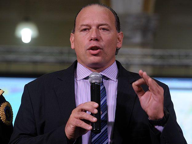 Berni desestimó incidentes durante la ceremonia de traspaso de mando presidencial