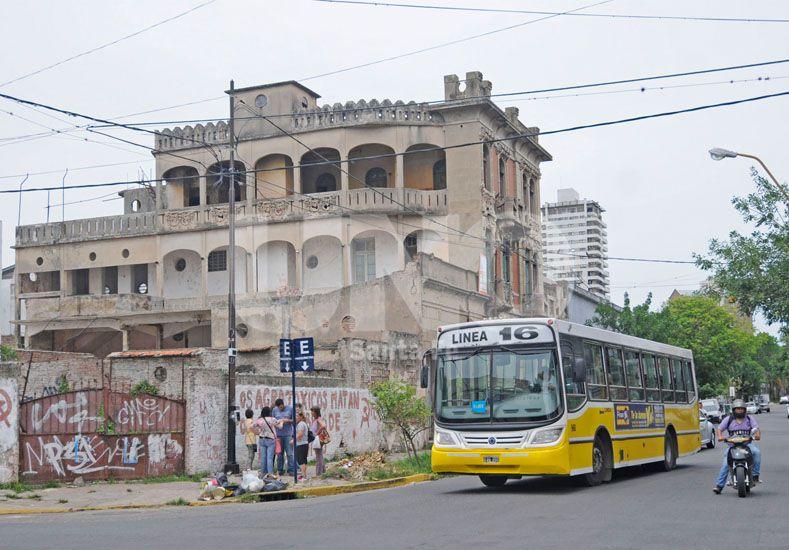 Ubicación. La antigua construcción está sobre calle Belgrano entre Ituzaingó y Gobernador Candioti. UNO de Santa Fe/Manuel Testi