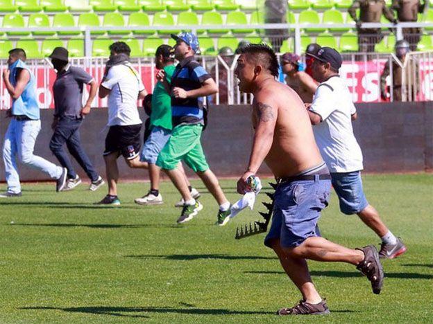 Escándalo, sangre y violencia en la final del torneo chileno