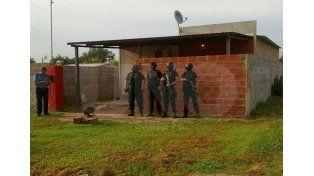 Santo Tomé: aprehendieron a una mujer y le secuestraron armas y estupefacientes