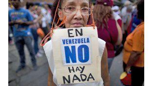 Escasez. Las marchas de la oposición han canalizado el descontento con el crónico desabastecimiento.