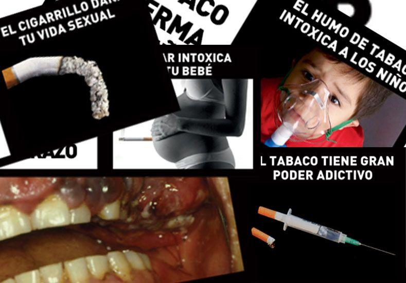 Las tabacaleras deberán cambiar las imágenes de advertencia de los paquetes cada 6 meses