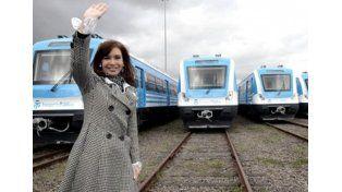 Cristina inaugura el primer tramo de electrificación del ramales de la línea Roca