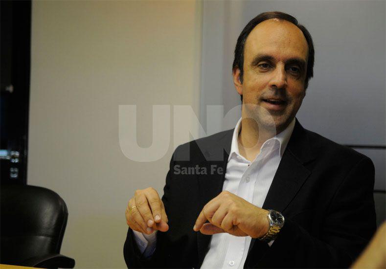 Recambio. José Corral recibió el aval de los principales dirigentes para convertirse en titular partidario / Foto: Juan Manuel Baialardo - Uno Santa Fe