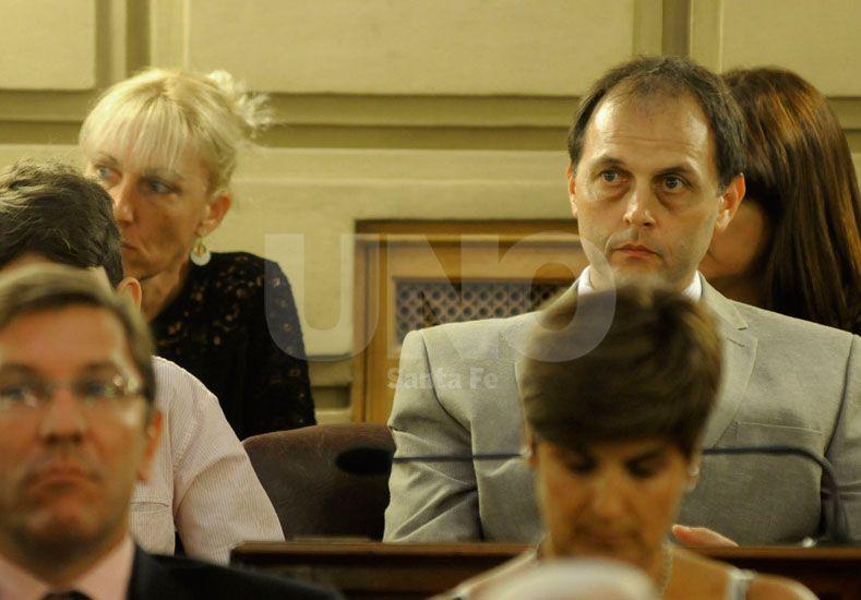 Rassetto (foto) acusó no haber sido consultado por sus pares del radicalismo para la designación de Fabián Bastía como subsecretario de la Cámara.