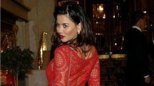 ¿Qué figura le copió el vestido a Karina Jelinek en la gala de revista Gente?