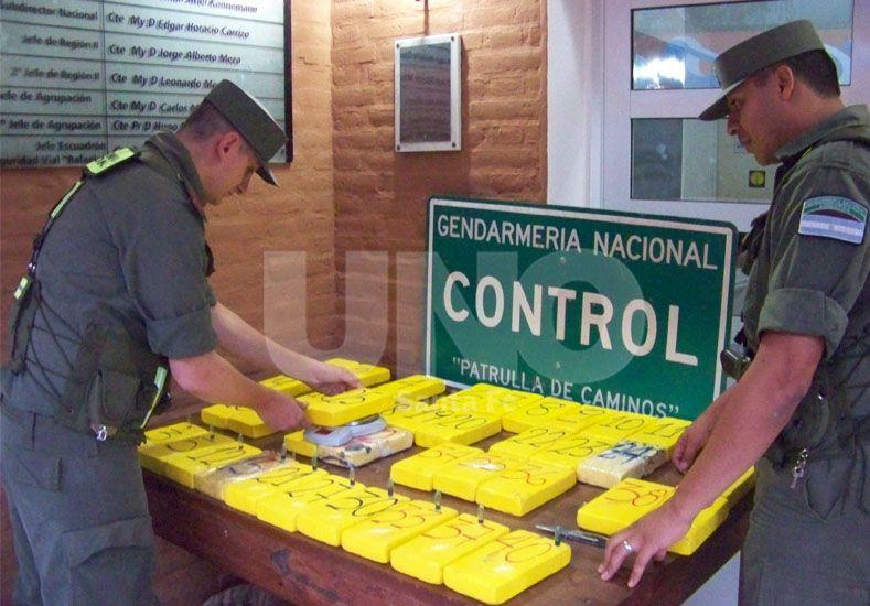 Gendarmería secuestró más de 40 kilos de cocaína en la ruta Nº 34