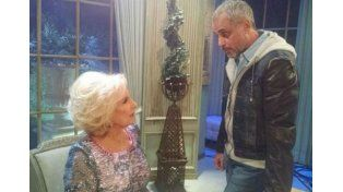 Mirtha Legrand y Jorge Rial