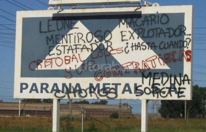 Paraná Metal baja la persiana, pero los trabajadores decidieron resistir hasta el cambio de gobierno