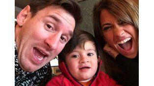 Messi reveló qué le dice su hijo Thiago cada vez que va a jugar un partido