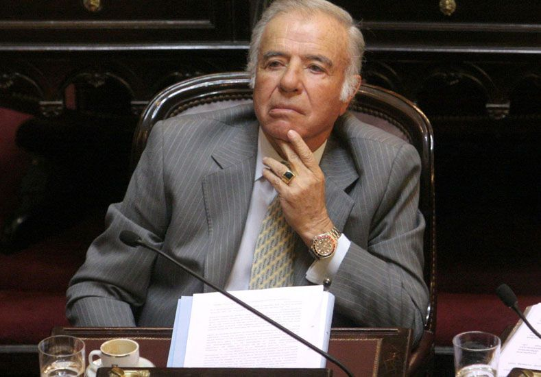 Condenaron a Carlos Menem a cuatro años y medio de prisión por pagar sobresueldos