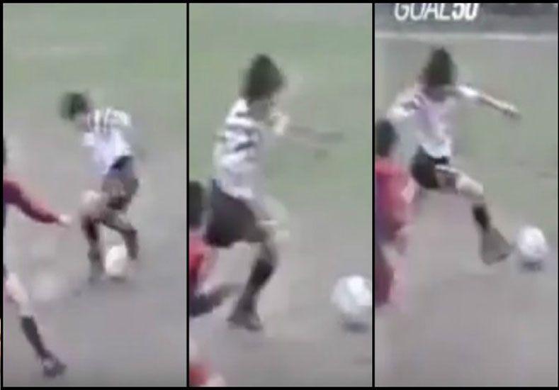 El gol inédito de Messi: taco, giro y definición