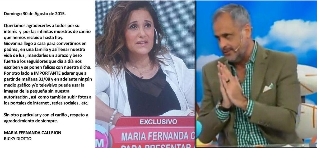 A Jorge Rial no le cayó bien la decisión de la Callejón y expresó su enojo de una manera muy sutil