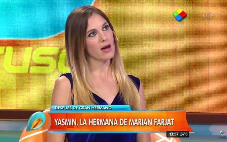 """Yasmin, la hermana de Marian de #GH2015: """"Brian es muy distinto a mi familia"""""""