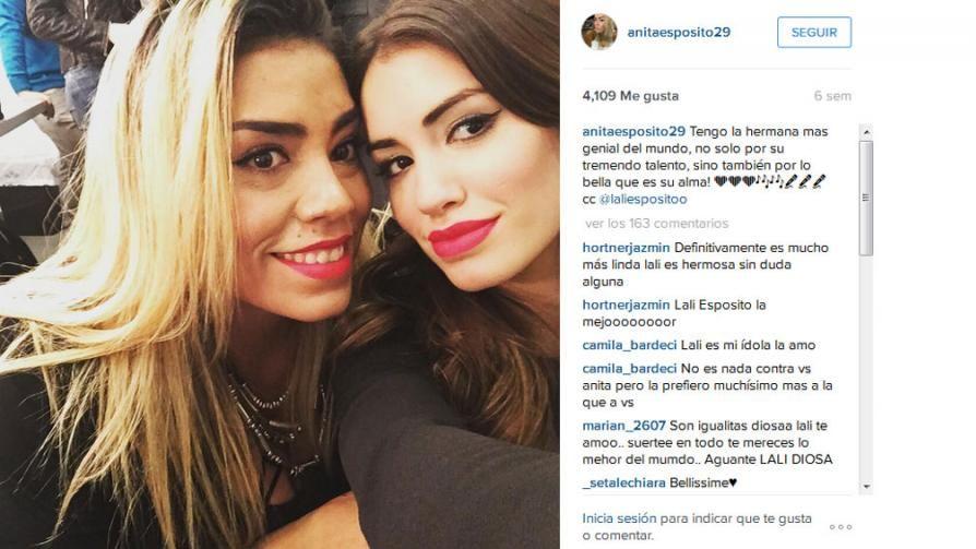 """Conocé a la hermana """"gemela"""" de Lali Espósito"""