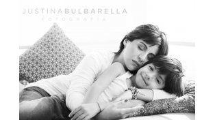 La producción fotográfica más tierna de Gianinna Maradona y su hijo Benjamín