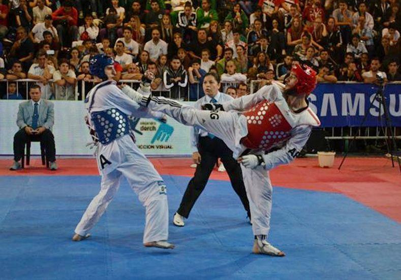La Argentina logró 13 medallas en el Open de Taekwondo