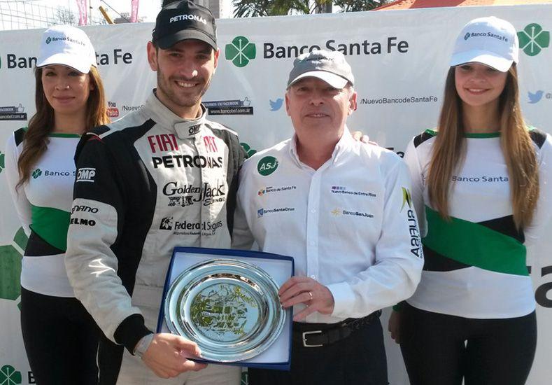 Facundo Ardusso se llevó el Gran Premio Banco Santa Fe en la nocturna del callejero